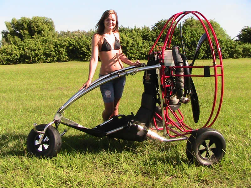 Victoria with the TrikeBuggy Bullet
